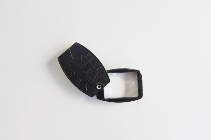 L–21 advertising magnifier